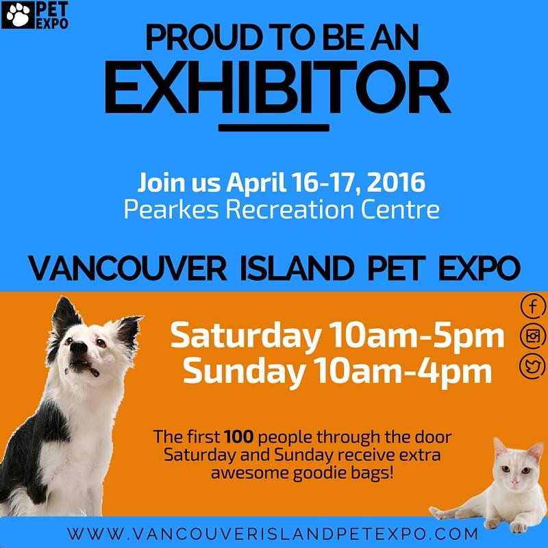 Vancouver Island Pet Expo 2016 Exhibitor